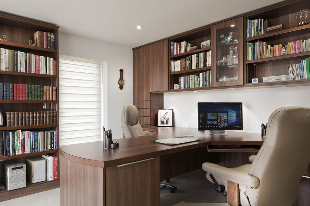 Contemporary Oak Office2 1000