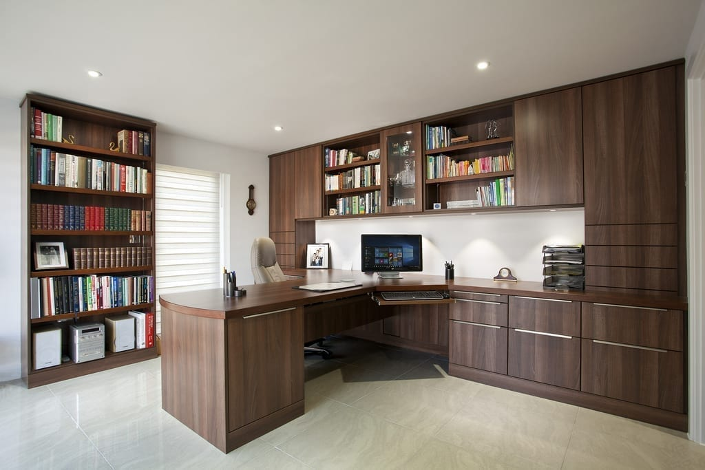 Contemporary Oak Office 1000