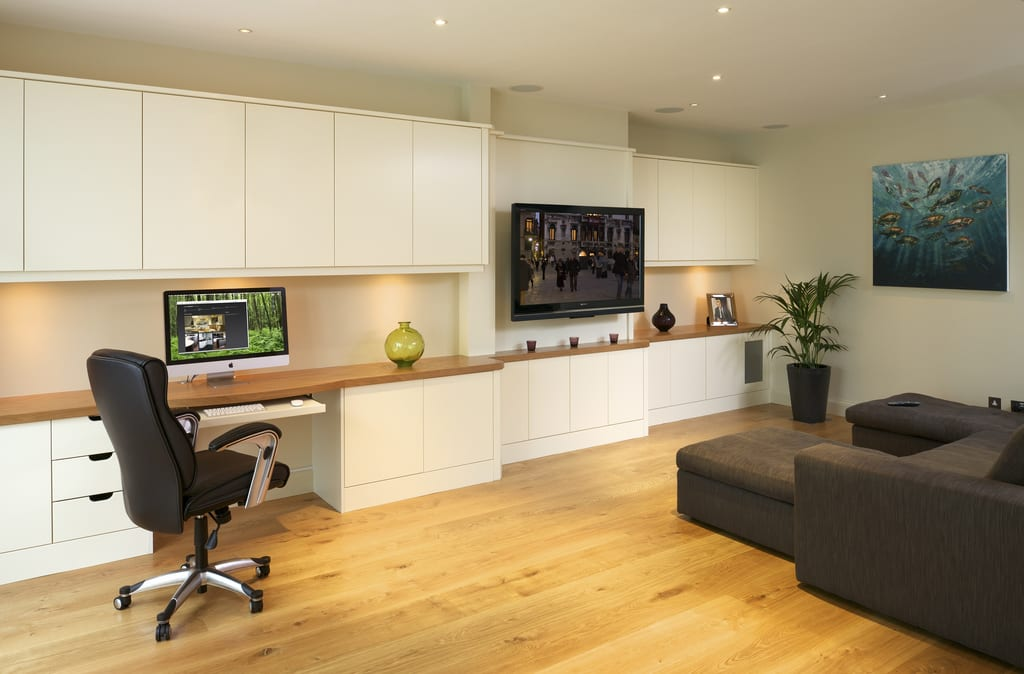 Basement Media Room Fine Bespoke Fitted Furniture
