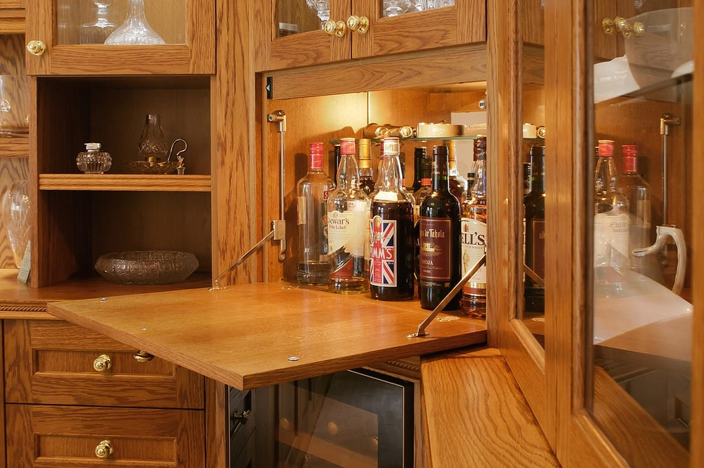 Drinks Cabinet Fitted 1000