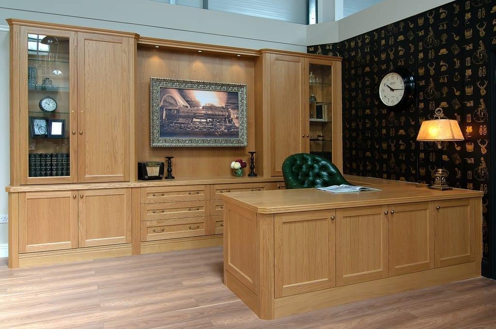 Light Oak Tv Painting Concealed 1000