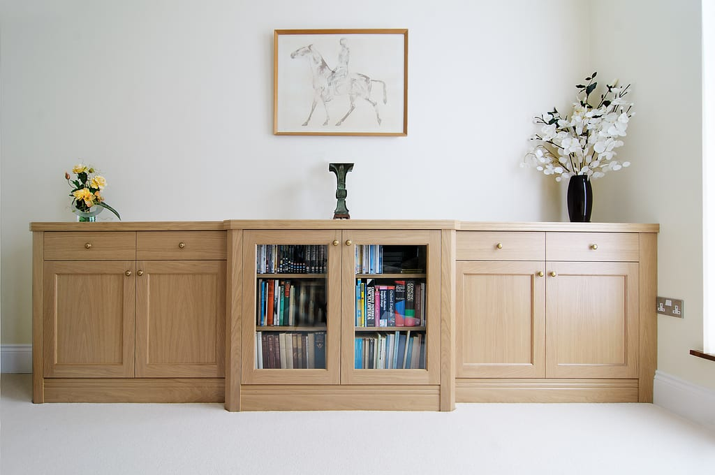 Light Oak Fitted Sideboard 1000