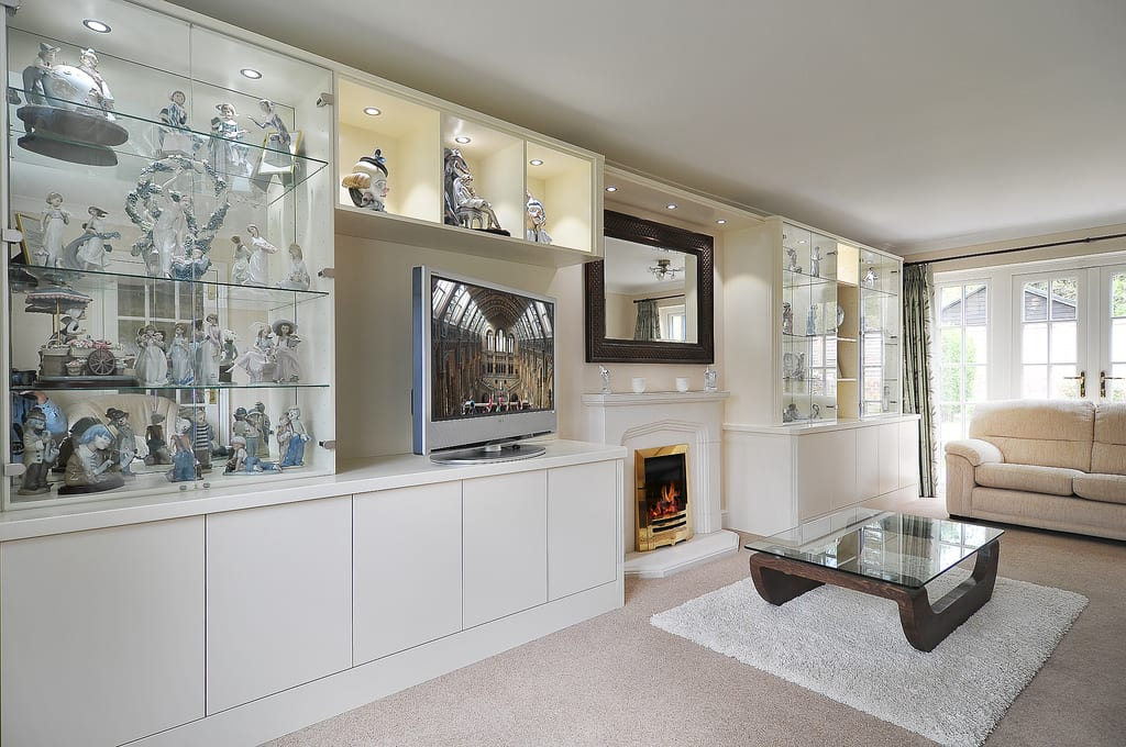 Contemporary fitted lounge furniture fine bespoke fitted for Living room furniture uk