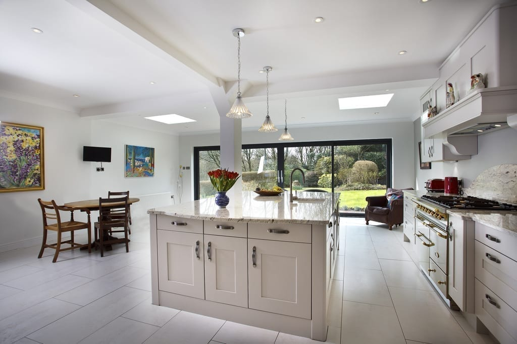 designs for open plan kitchen and lounge classic fitted kitchens to perfectly complement your 9854