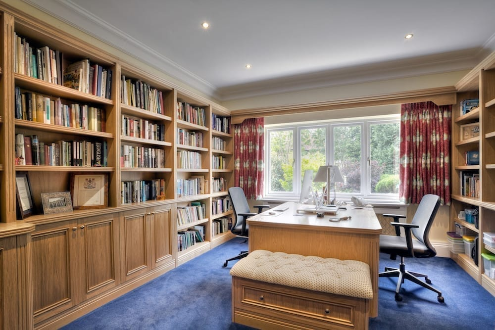 Classic Fitted Home Study To Perfectly Complement Your Period Home
